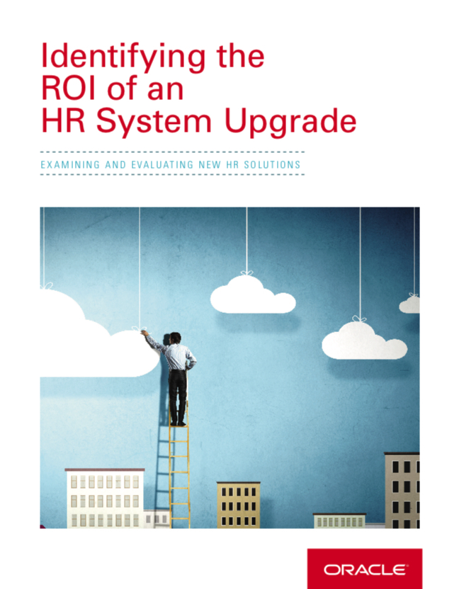 Identifying ROI of HR System Upgrade